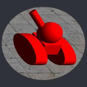Tank Red Image